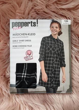 Pepperts рубашка платье туника 146 р