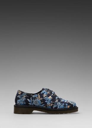 Туфли оксфорды dr. martens