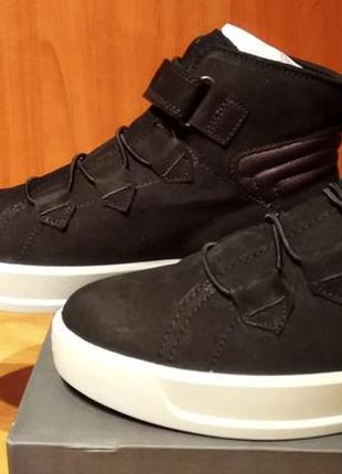 Новые! оригинал! межсезонные ботинки сапоги ecco.