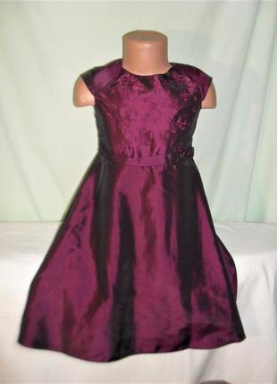 Нарядное платье на 4-5лет рост 110
