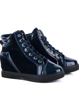 Ботинки сникерсы женские новые  с термо-подкладкой демисезонные в наличии