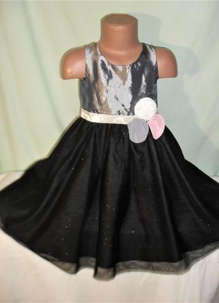 Нарядное платье на 5-6лет рост 116