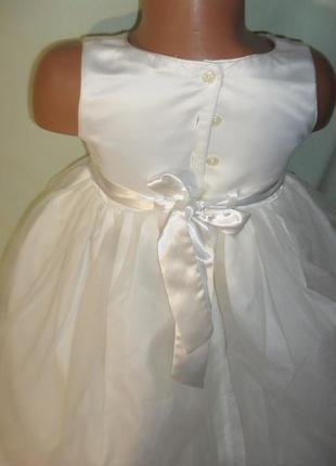 Нежное нарядное платье на 5лет рост 1103 фото