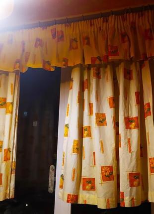 Занавески на кухню. шторы