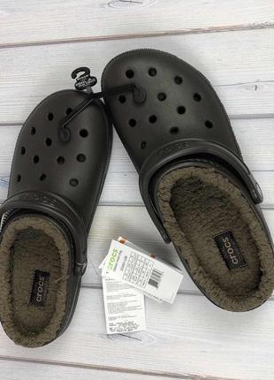 Crocs classic lined clogs крокс клоги оригинал