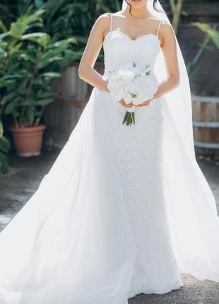 Весільне плаття, сукня від італійського бренду nora naviano