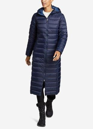 Женский пуховик eddie bauer woman cirruslite duffle coat reg s