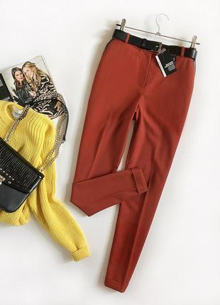 Идеальные базовые классические брюки с высокой посадкой atmosphere