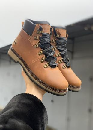 Подростковые ботинки кожаные зимние