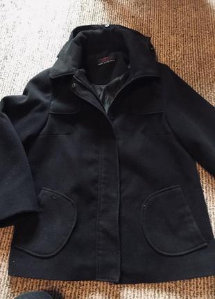 Осеннее пальто трапеция new look