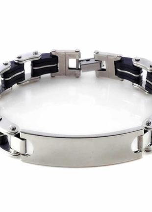 Мужской браслет нержавеющая сталь