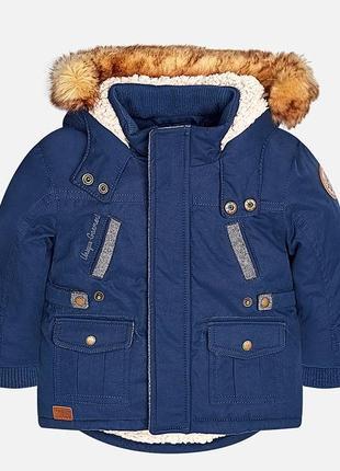 Куртка - парка утеплённая mayoral