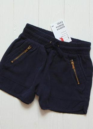 H&m. размер 2-3 года. новые стильные шорты для девочки