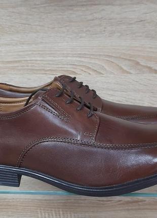 Оригинальные мужские туфли clarks tilden walk