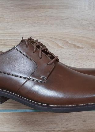 Оригинальные мужские туфли clarks becken plain