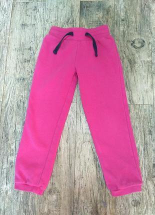 Утепленние штани для девочки. 110-116см