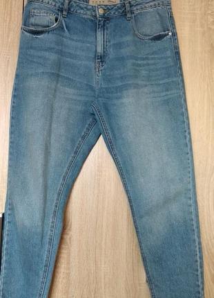 Крутые джинсы mom, брюки штаны размер 48-50