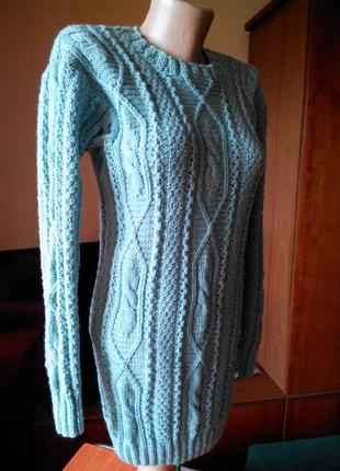 Новый свитер-ручная работа