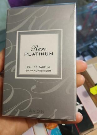 Парфюмированная вода rare platinum avon