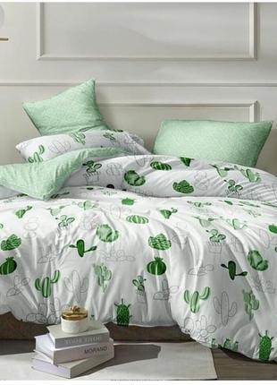 Постельное бельё кактусики, бязь голд, все размеры в наличии2 фото