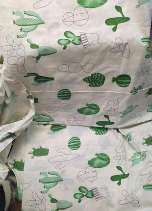 Постельное бельё кактусики, бязь голд, все размеры в наличии3 фото