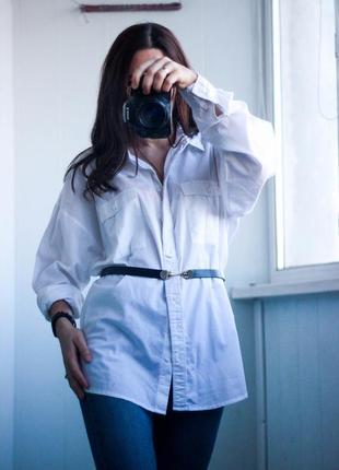 Удлиненная рубашка размер l,xl