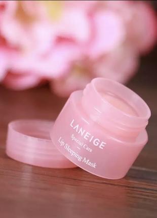 Маска ночная для губ laneige lip sleeping mask корейская косметика оригинал