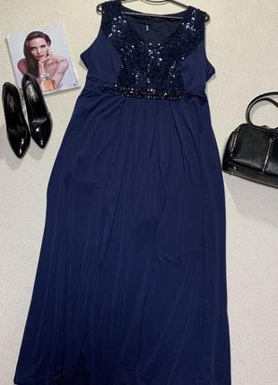 Шикарное платье,размер 5xl