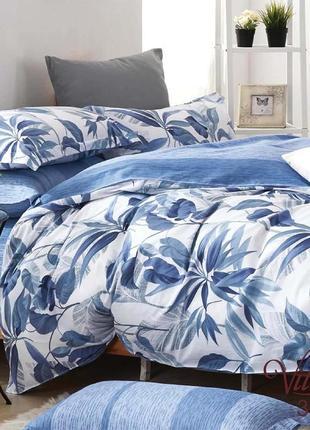 Постельное двуспальное белье сатин-твил тм вилюта, постель.
