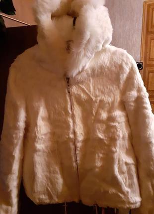 Натуральная курточка шубка