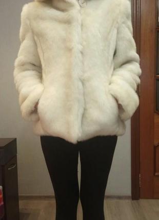 Шуба полушубок мех жилет куртка пальто