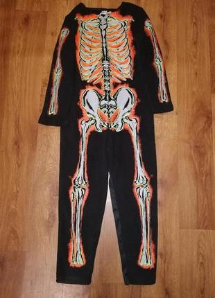 🔥🔥🔥детский костюм, карнавальный костюм скелета на хэллоуин, halloween f&f🔥🔥🔥