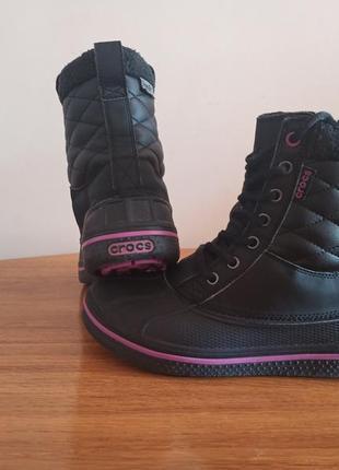 Ботинки crocs allcast waterproof duck boot р. w6