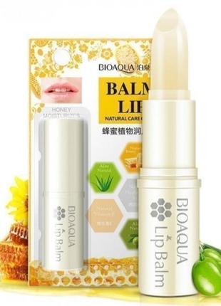 Бальзам для губ bioaqua natural care of lips с медом probeauty