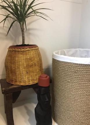 Кашпо для вазона и корзина для хранения вещей }