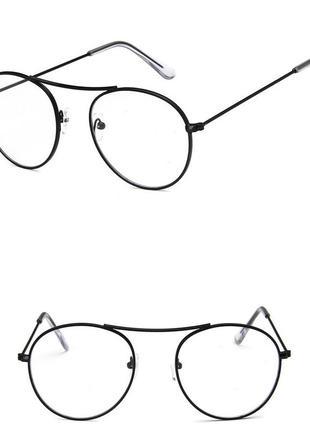 4-60 окуляри для іміджу з прозорою лінзою очки для имиджа с прозрачной линзой