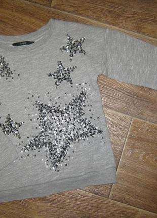 Красивый свитшот в звёзды от george , 4-5лет    138грн