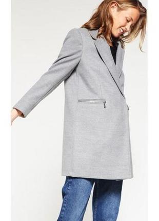 Новое стильное пальто бойфренд oversize