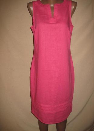 Льняное платье george р-р10.