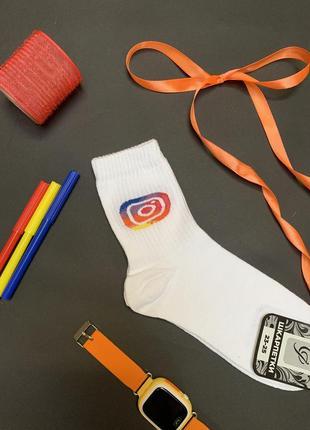 Женсуие носки с instagram