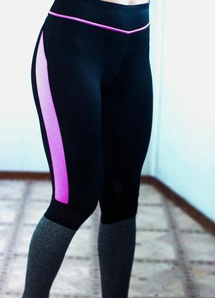 Спортивные леггенсы для фитнеса йоги workout размер с