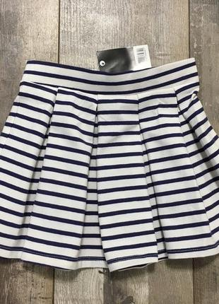 98(2-3 года) юбка с плотного трикотажа от kiki&koko