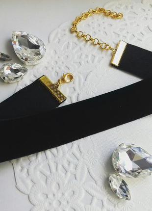 """Чокер """"black velvet"""" в наличии три штуки!!!!"""