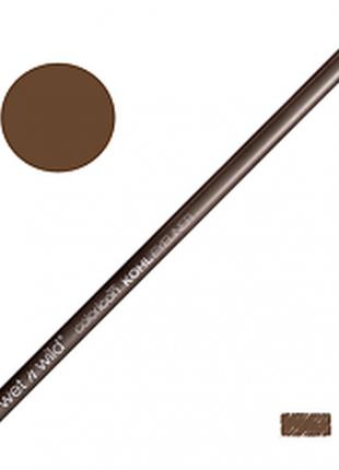 Каял -карандаш для глаз wet n wild color icon kohl eyeliner pencil e602a pretty in mink