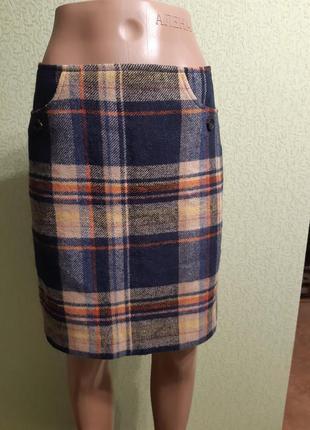 Теплая шерстяная юбка tom tailor