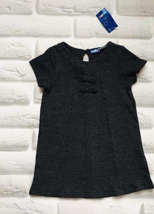 Lupilu  новое стильное платье на девочку 2-4 года
