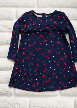 Primark стильное платье на девочку 18-24 мес