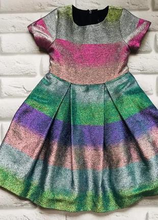 I love next  стильное платье на девочку 6 лет
