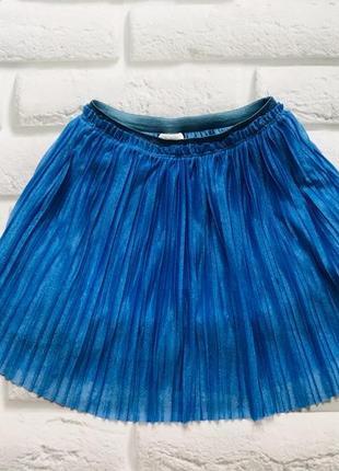 Zara стильная юбка на девочку 6 лет