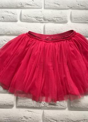 Young dimension красивая юбка-пачка на девочку 6-7 лет